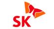 (주)에이디티시큐리티의 그룹인 SK의 로고