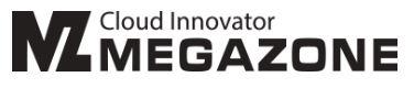 메가존(주)의 그룹인 메가존의 로고
